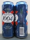 KRONENBOURG 1664 Blanc 46 25cl blue bottles
