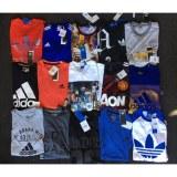 Adidas Men's s/s tees assortment. 72pcs.