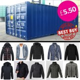 Brand New Assorted Mens Spring Jacket / Parka OFFER UK