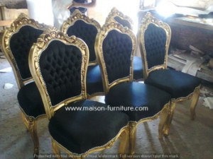 Baroque chair - french furniture reproduction