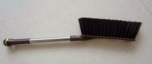Popular long handle plastic with steel bed brush