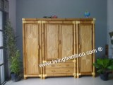Bamboo Wardrobe, Home Furniture, Bamboo Furniture