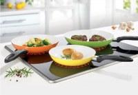 Bratmaxx ceramic cookware 3pcs