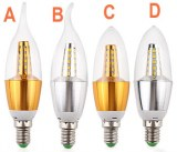 7W CREE Chip Scob LED Candle Lamp Bulb