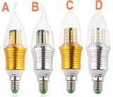 9W E14 LED Candle Light Bulb Lamp