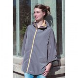 Women's cycling rain cape, Sweet Bohème