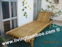 Bamboo Sunbed, Bamboo Long Chair