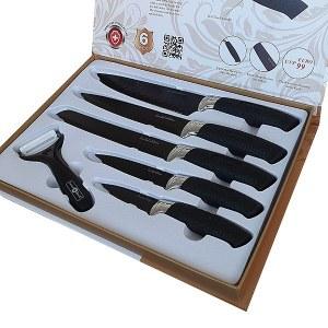 5+1 pcs knives