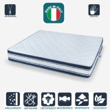 STOCK 500 MATTRESSES: THE PERFECT MATTRESS SUPERRELAX mattress 9 zones with 3D memory...