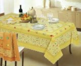 Stock tablecloths various sizes 100% cotton