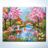 Oil painting by number kits china suply