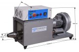 Industrial hot air blower with high pressure wind Hot air blower for drying pipe