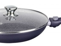 Imperial Collection IM-FFL28-DM; Marbled coating pan with detachable handle 28cm