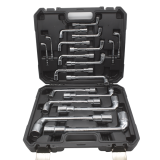 Kraf TWorld Professional-Line KW-19PCS;Socket Wrench Set 19PCS