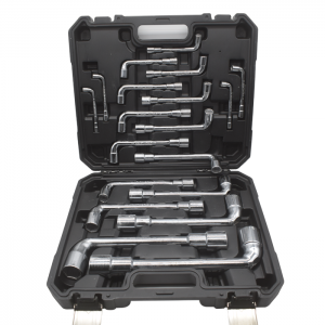 Kraf TWorld Professional-Line KW-19PCS;Socket Wrench Set 19PCS