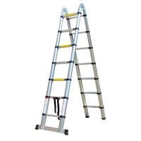 Herzberg HG-5560: Retracting Aluminum Telescopic Ladder - 5.60M