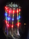 Led hair extention