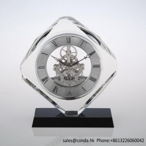 Clock factory quartz crystal desktop clock