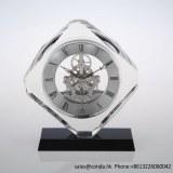 Clock factory quartz crystal desktop clock