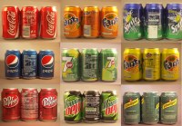 Coca Cola 330 ML (Fanta , Sprite , Pepsi , Mirinda , 7UP , Schweppes , ETC)