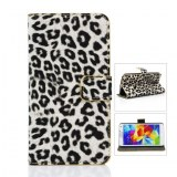 Wholesale Leopard Pattern Wallet Protective Flip Case with Stand for Galaxy S5