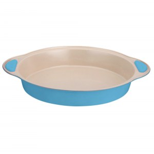 Euro Lady EL- RKP23: Ceramic Coated Non-stick Bakeware Blue