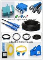Fiber optic patch cord/pigtail/ plc splitters/connectors, adapters, attenuators factory selling