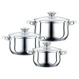 Peterhof PH-15823; 6pcs Stainless Steel Cookware Set