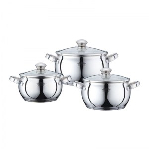 Peterhof PH-15832; Stainless Steel Cookware Set6pcs