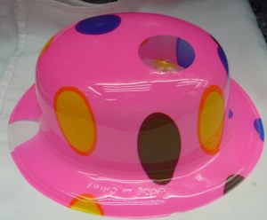 PVC hats,party hat,fashion hat,stylish hat