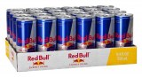 Red Bull energy drink and coca cola