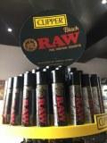 4 x Clipper Lighters RARE Gas Lighter Refillable Flint |