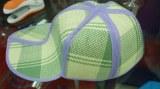 Straw folded cap