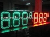 "24"" 888.8 LED gas price displays"