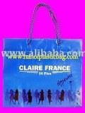 Drawstring plastic bag