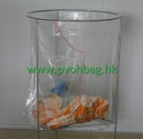 Water soluble laundry bag