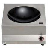 Induction jumbo-wok with Ceran basin