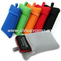 Fashion neoprene mobile phone bag