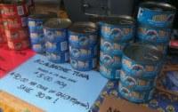 Canned Tuna shredded