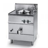 Boiling Pan, Gas Indirect Heating, 55 Lt Netto