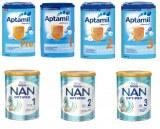 Milupa Aptamil 800g & Nestle NAN Optipro 800g