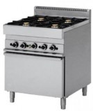 GAS RANGE + ELECTRIC OVEN Classica 650