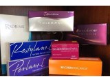 Surgiderm , juvederm , vivacy stylage , dysport, botox , belotero , restylane