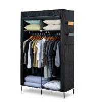 Herzberg HG-8012: Storage Wardrobe Black