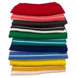 Cenocco CC-9066: 10 - Pieces Plain & Classic Stripe Waffle Weave Cotton Kitchen Towel...