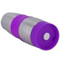 Cenocco CC-6000: Stainless Steel Vacuum Travel Mug Purple