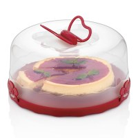 Herzberg HG-L501: Caramel Cake Dome Red