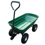 Herzberg HG-8028-75: 75L Wheel Barrow Dump Cart