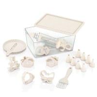 Herzberg HG-L657: Saver Box with Pastry Set