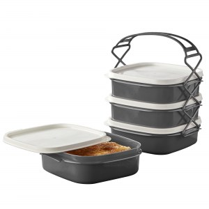 Herzberg 4 Layer Tetra Lunch Box